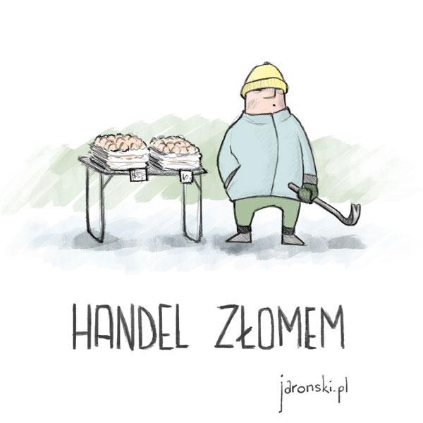 Paweł Jaroński - handel