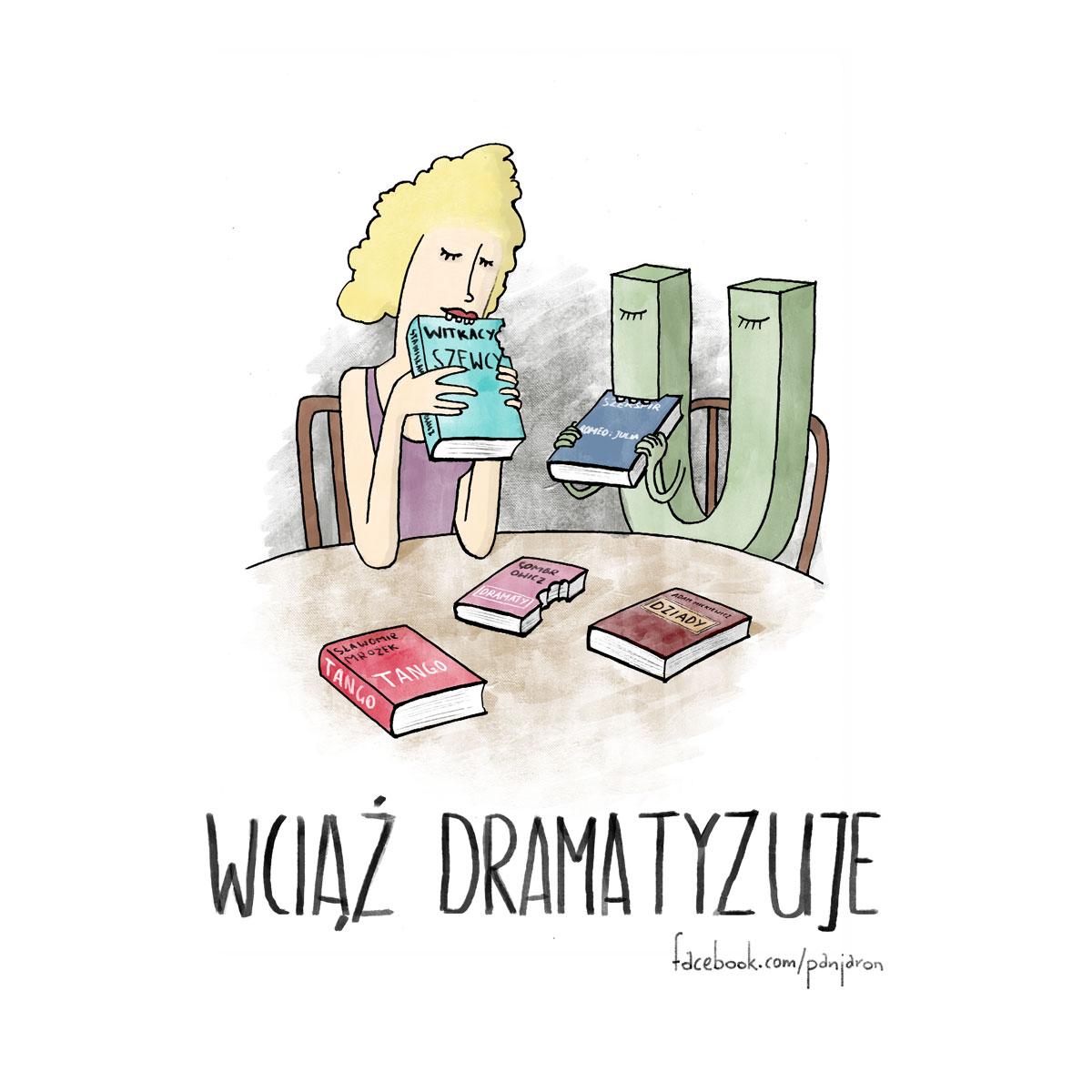 dramatyzuje