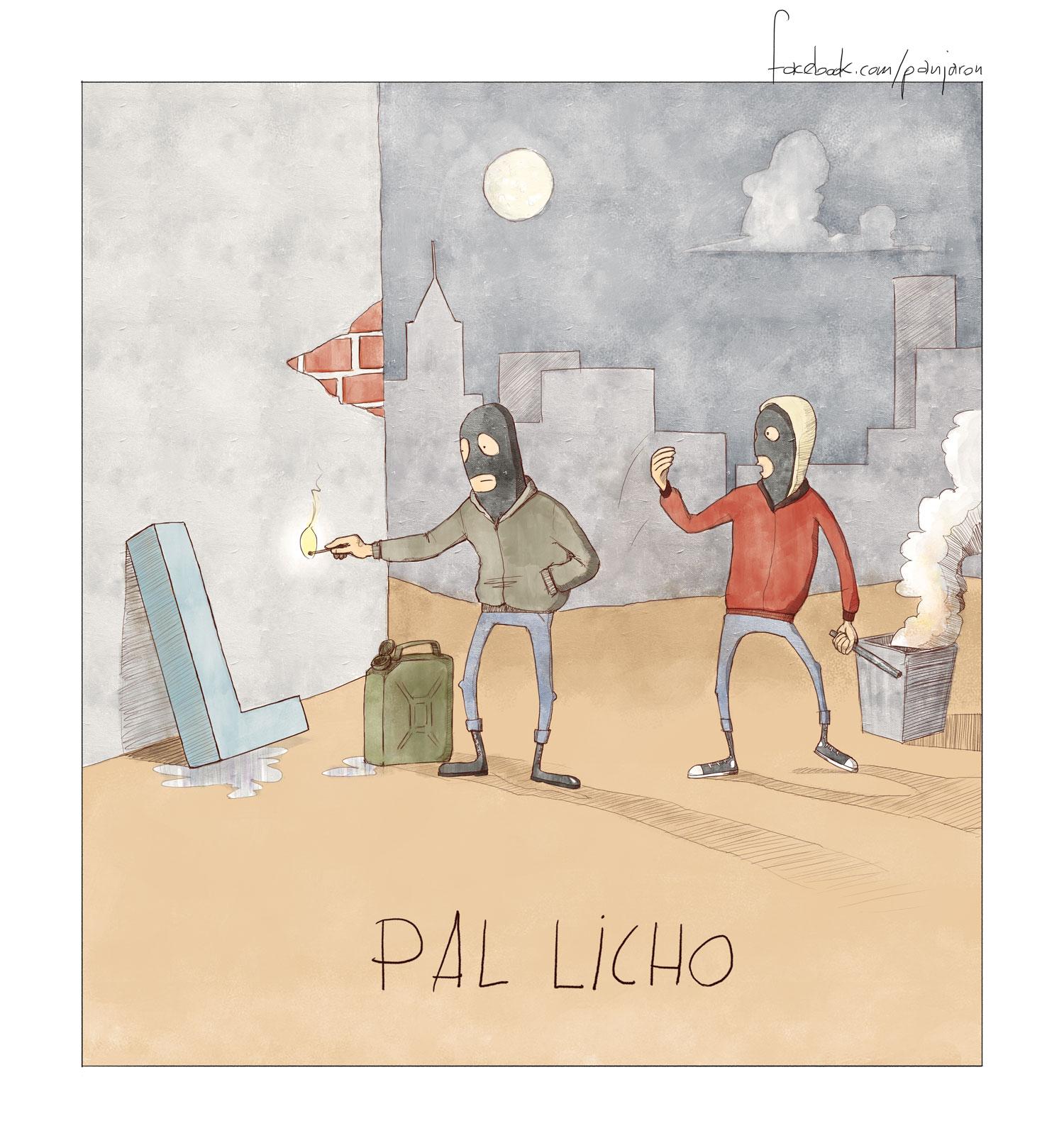 Jaroński rysownik - pal licho